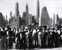 Sailors in NY Fine-Art Print