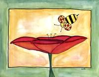 Poppies a Buzz Fine-Art Print
