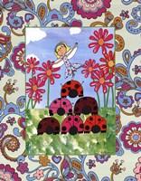 Ladybug Pyramid Fine-Art Print