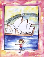 Girl In Sydney Fine-Art Print
