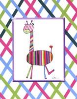 Groovy Giraffe Fine-Art Print