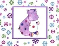 Groovy Hippo Fine-Art Print