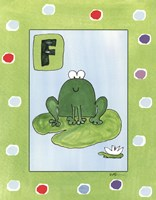 F is for Frog Fine-Art Print