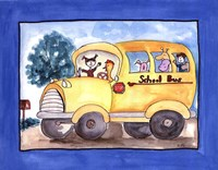 School Bus Fine-Art Print