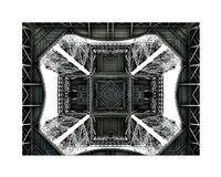 View of the Eiffel Tower from below Fine-Art Print