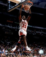 Michael Jordan 1996 Action Fine-Art Print
