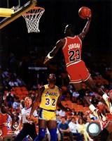 Michael Jordan Action Fine-Art Print