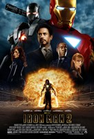 Iron Man 2 Explosion Wall Poster