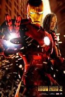 Iron Man 2 Transformation Wall Poster
