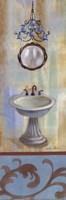 French Bathroom in Blue II Fine-Art Print