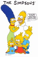 The Simpsons Family Fine-Art Print