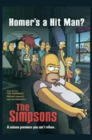 The Simpsons Homer's a Hit Man? Wall Poster