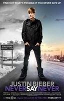 Justin Bieber: Never Say Never Fine-Art Print