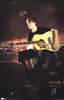 Justin Bieber - Guitar Wall Poster