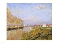 The Seine at Argenteuil, 1873 Fine-Art Print