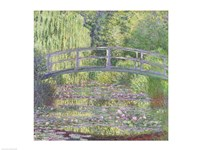 The Waterlily Pond: Green Harmony, 1899 Fine-Art Print