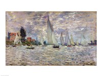 The Boats, or Regatta at Argenteuil, c.1874 Fine-Art Print