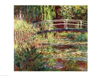 Waterlily Pond: Pink Harmony, 1900 Fine-Art Print