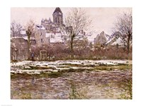 The Church at Vetheuil under Snow, 1878-79 Fine-Art Print
