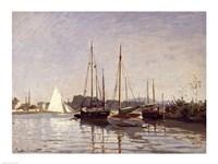 Pleasure Boats, Argenteuil, c.1872-3 Fine-Art Print