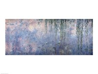 Waterlilies: Morning with Weeping Willows, detail of central section, 1914-18 Fine-Art Print