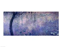 Waterlilies: Two Weeping Willows, left section, 1914-18 Fine-Art Print