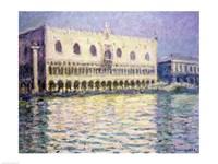 The Ducal Palace, Venice, 1908 Fine-Art Print