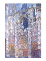 Rouen Cathedral, Blue Harmony, Morning Sunlight, 1894 Fine-Art Print