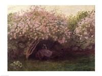 Lilacs, Grey Weather, c.1872-73 Fine-Art Print