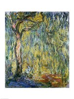 The Large Willow at Giverny, 1918 Fine-Art Print