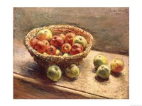 A Bowl of Apples, 1880 Fine-Art Print