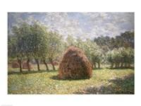 Haystacks at Giverny, 1893 Fine-Art Print