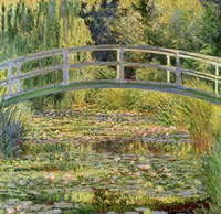 Waterlily Pond, 1899 Fine-Art Print