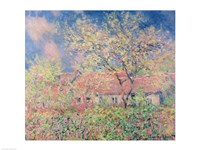 Springtime at Giverny, c.1880 Fine-Art Print