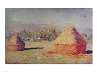 Two Haystacks, 1891 Fine-Art Print