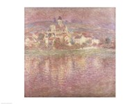 Vetheuil, sunset, 1901 Fine-Art Print