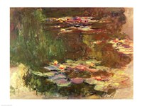 The Lily Pond, c.1917 Fine-Art Print