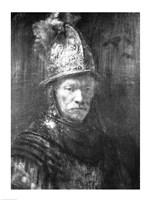 Portrait of a Man with a Golden Helmet, 1648 Fine-Art Print