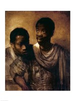 Two Negroes, 1661 Fine-Art Print