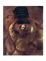 Moses Smashing the Tablets of the Law, 1659 Fine-Art Print