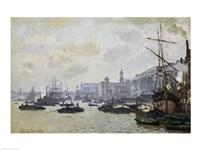 The Thames at London, 1871 Fine-Art Print