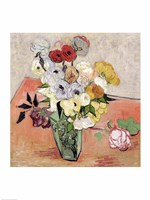 Roses and Anemones, 1890 Fine-Art Print