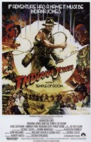 Indiana Jones and the Temple of Doom Movie Fine-Art Print