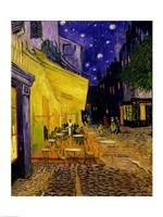 Cafe Terrace, Place du Forum, Arles, 1888 Fine-Art Print