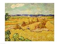 The Haystacks Fine-Art Print