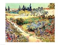 The Garden at Arles, 1888 Fine-Art Print