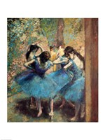 Dancers in Blue, 1890 Fine-Art Print