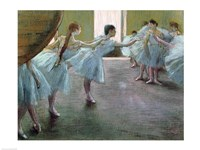 Dancers at Rehearsal Fine-Art Print
