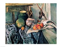 Still Life with Pitcher and Aubergines Fine-Art Print