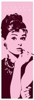 Audrey Hepburn - Cigarello Wall Poster